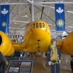 Canadian Warplane Heritage Museum inside