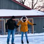 Skating at Pier 8