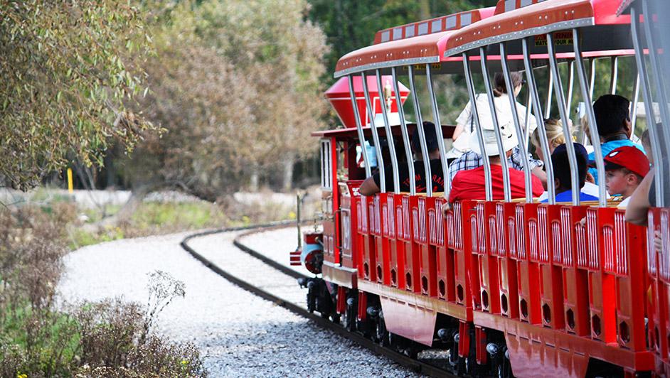 African Lion Safari - Scenic Railway